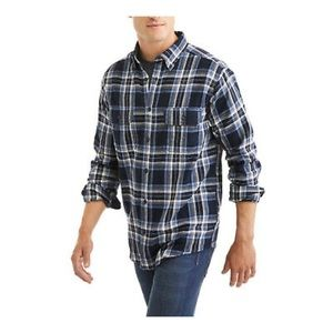 Faded Glory• Plaid Flannel Button Down